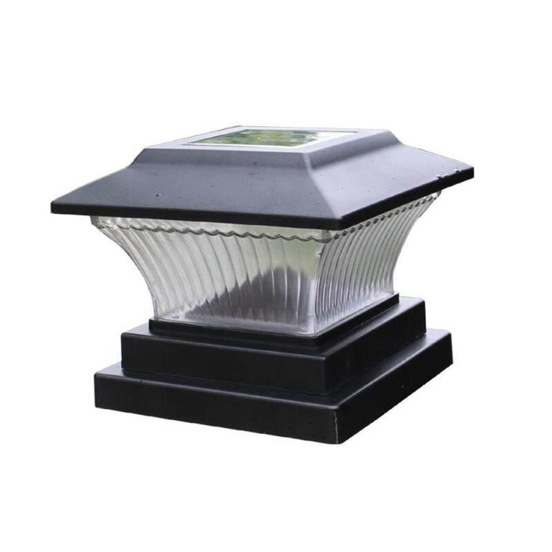 Đèn Led trụ cột năng lượng mặt trời Peggybuy đèn sân vườn ngoài trời bảo vệ chiếu sáng và trang trí ngôi nhà - INTL