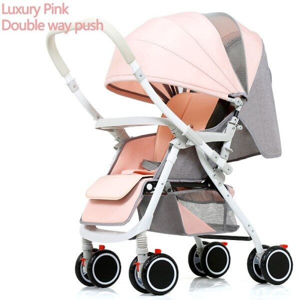 Two-Way Push Baby Stroller Lightweight Baby Stroller Baby Stollers Foldable Pushchair No Tax And Shipping From Eu Or Cn Singapore