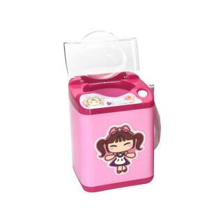 Mesin Cuci Pembersih Kuas Rias Otomatis, Perangkat Pembersih Elektronik untuk Spons Blender Kecantikan, Sikat Kosmetik, Puff Bubuk thumbnail