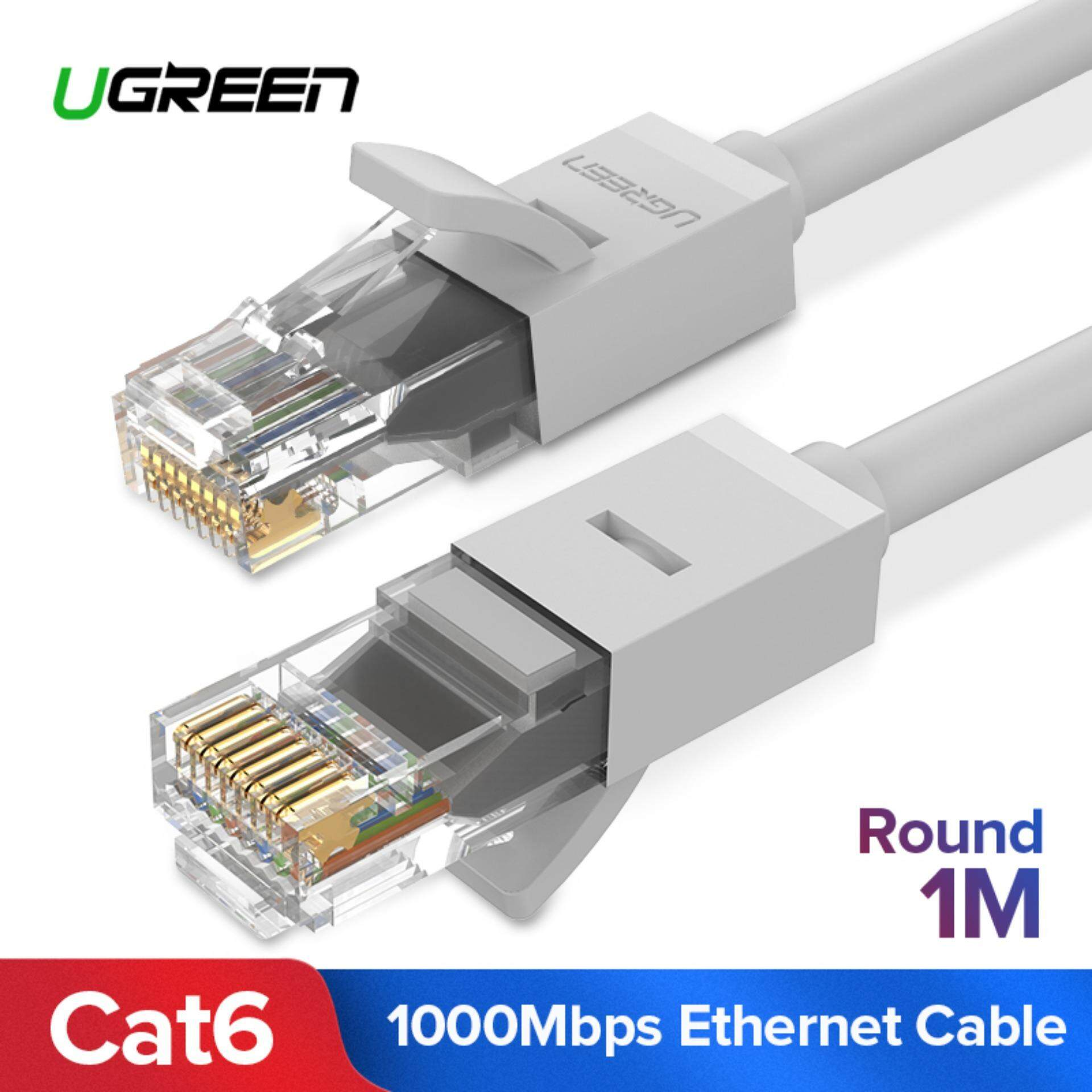 Computer Laptop Ethernet Cables For The Best Prices In Malaysia Cat6 Cable Wiring Ugreen 1 Meter Patch Gigabit Rj45 Network Wire Lan Plug Connector