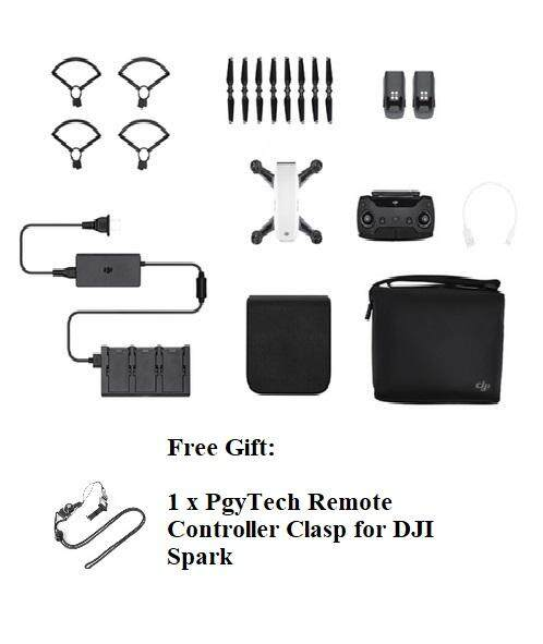 Dji Spark Fly More Combo With Free Gift By Megahunt.