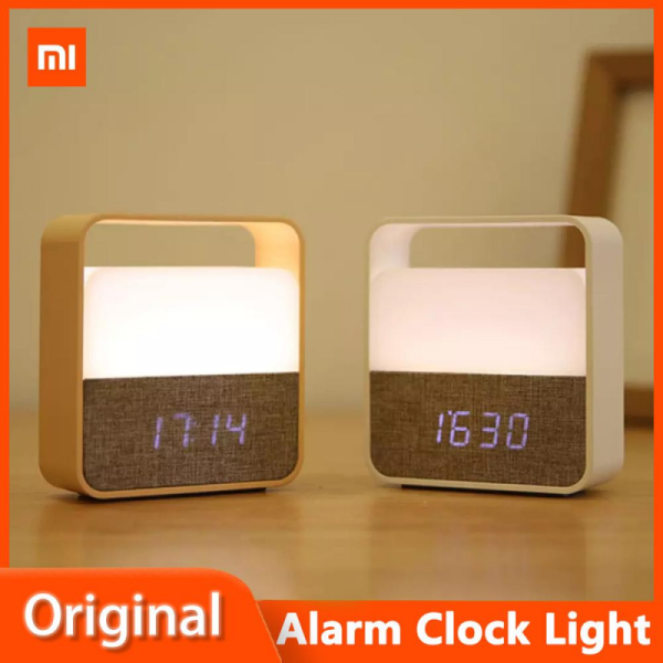 Xiaomi Midea Clock Night Light Led Clock Display Mute Portable Hand Lamp Rechargeable Silent Clock At Home Travel