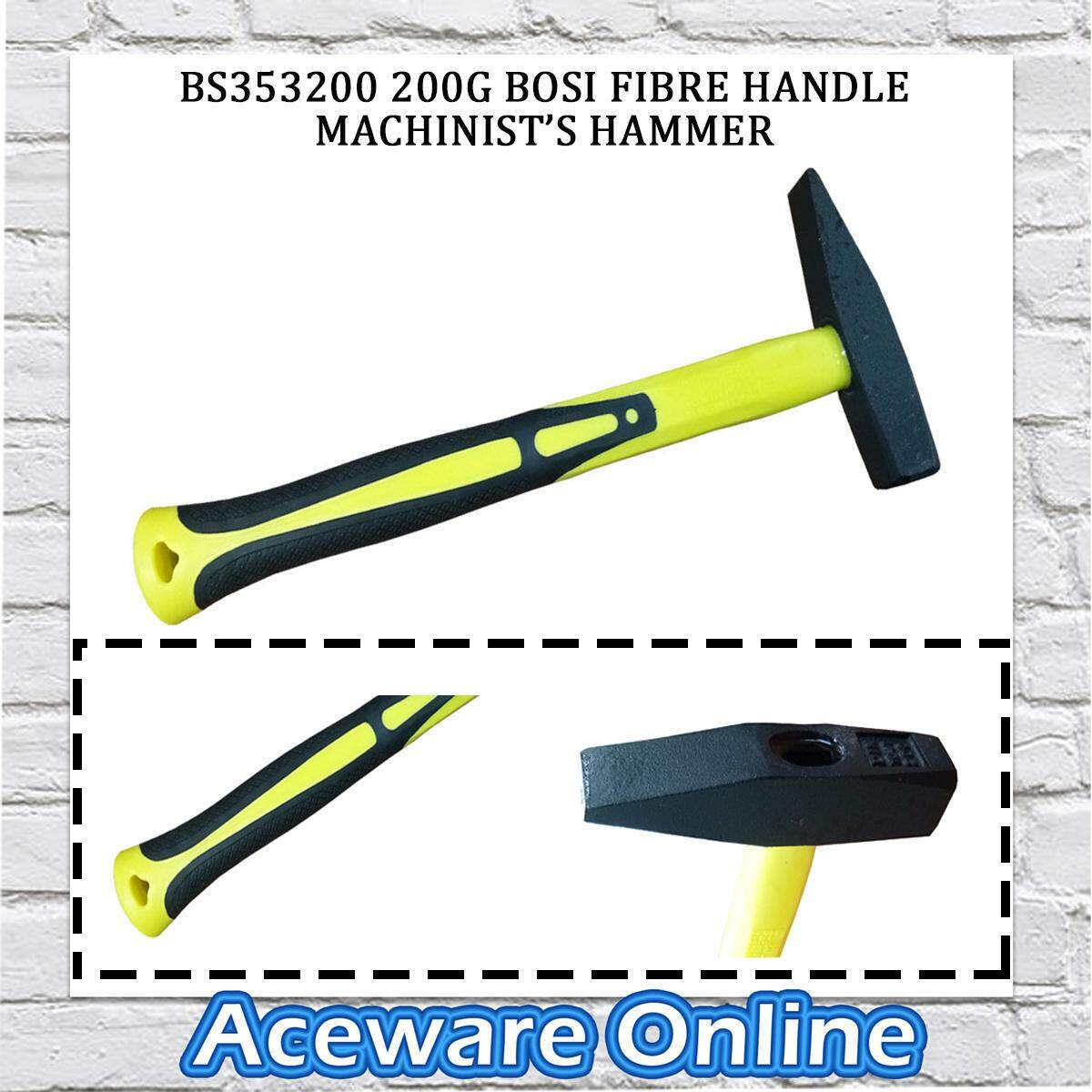 BS353200 200G BOSI FIBRE HANDLE MACHINIST'S HAMMER