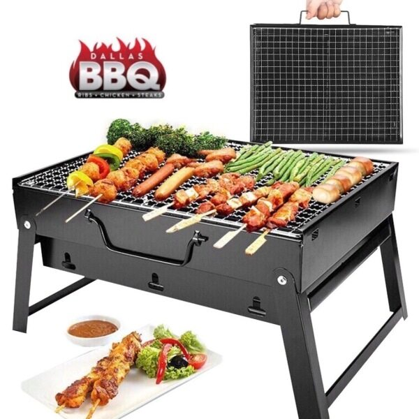 BBQ Outdoor Barbecue Grill Portable BBQ Grill Barbecue Pan Grill