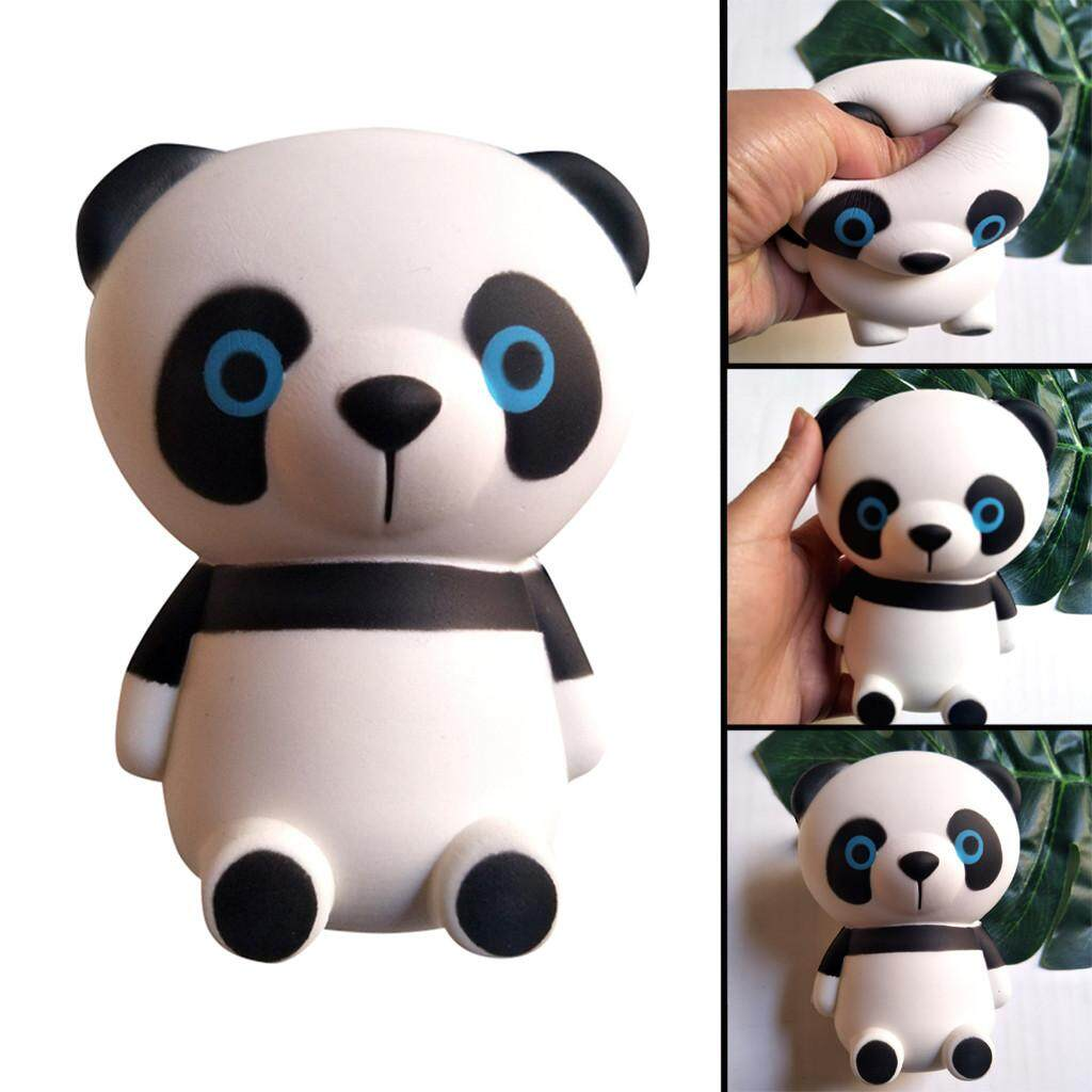 Automobiles Jumbo Squishy Kawaii Panda Bear Egg Candy Soft Slow Rising Stretchy Squeeze Kid Toys Relieve Stress Phone Straps Children Gifts Traveling