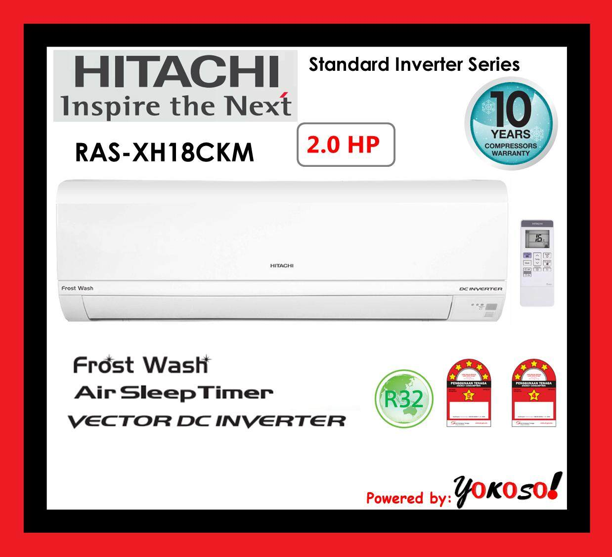 Hitachi RAS-XH18CKM 2.0HP Standard Inverter Series