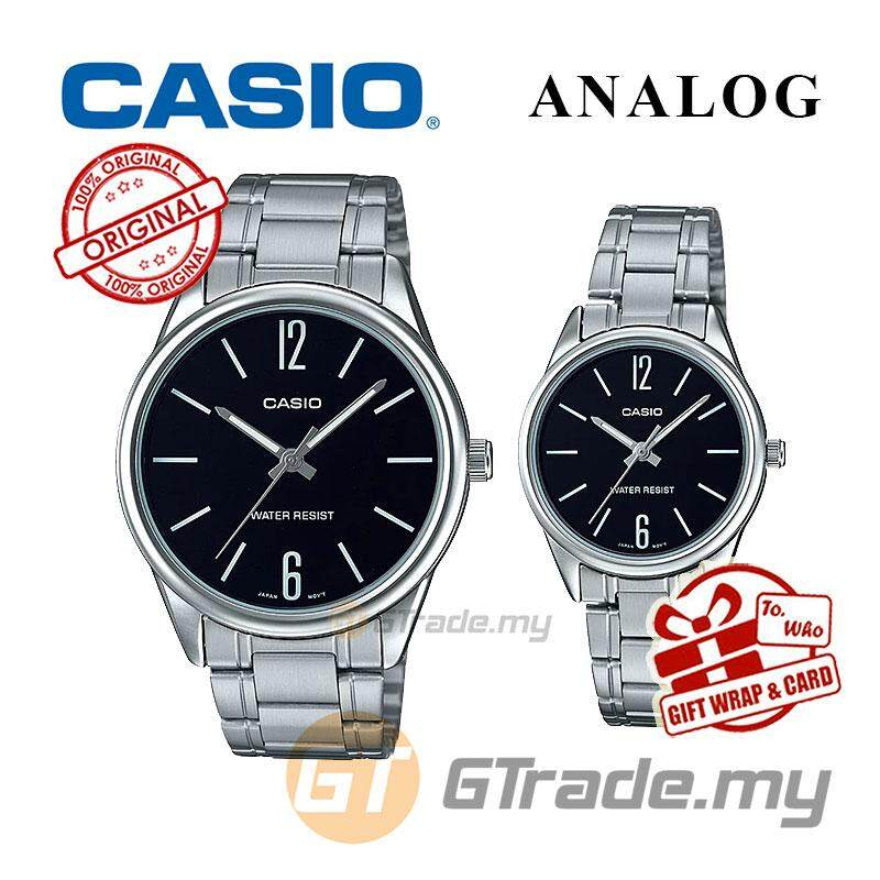 CASIO MTP-V005D-1B & LTP-V005D-1B Couple Watch   Simple Clean Design [PRE] Malaysia