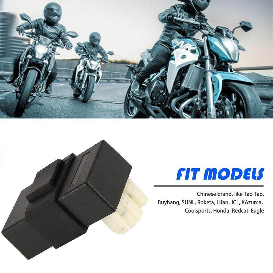 Hot Sellers GY6 50cc 150cc 250cc Gas Scooters DC CDI Box Mopeds Chinese  Parts 6 Pin