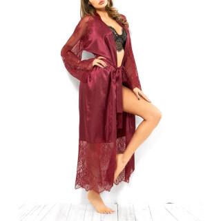 Đồ Ngủ Nữ Ren Lụa, Áo Choàng Tắm, Satin Nightdress Ngủ Phù Dâu Áo Choàng thumbnail