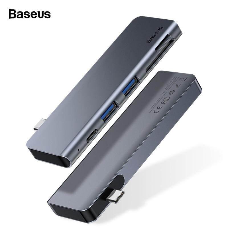 Baseus USB C HUB Type-c to Multi Ports USB 3.0 USB3.0 Type C Power Adapter USB-C HUB Splitter Dock For Macbook Pro Air USBC HAB