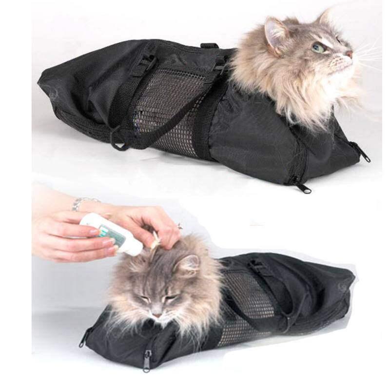 Túi Trang Phục Cho Mèo Đa Chức Năng Hạn Chế Túi Mèo Cắt Móng Tay Làm Sạch Túi Chải Chuốt Đồ Cho Thú Cưng Mèo Vận Chuyển