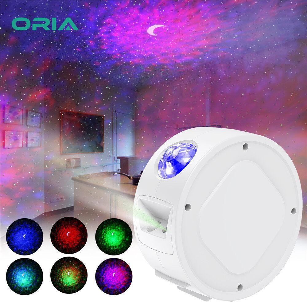 Đèn Chiếu Hình Bầu Trời Đầy Sao Máy Chiếu Đèn Ngủ 3 Trong 1 Máy Chiếu LED Sao Thiên Hà...