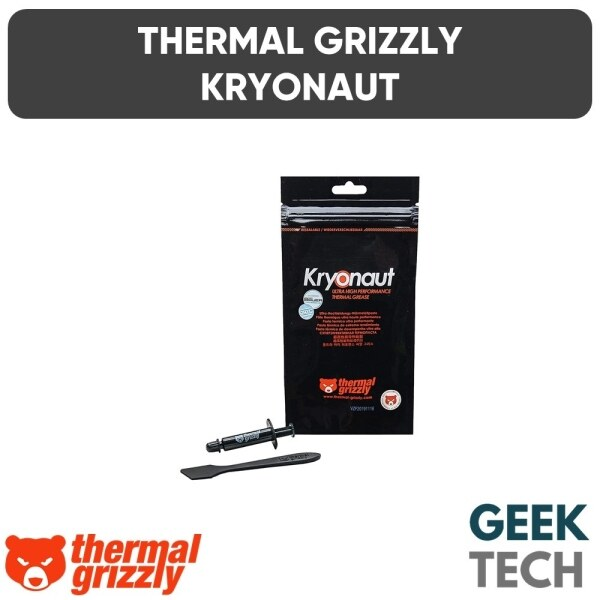 Boutique✒☊✣  THERMAL GRIZZLY Kryonaut Thermal Grease - Ultra High Performance Thermal Grease For Overclocking