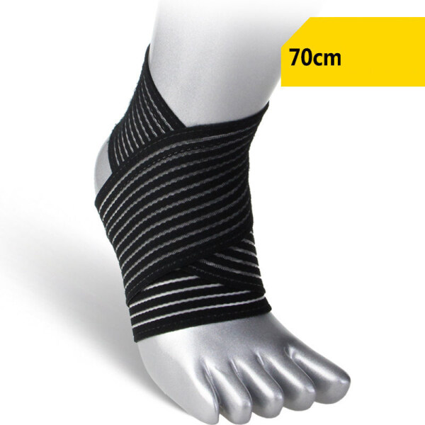 iHOME LIFE Ankle Support Braces 2 Pcs Adjustable Ankle Corrector Pads Protection Ankle Protect Foot Sprain Prevention Sports Running Breathable Splint Strap Injury Brace Pad Pain Support Elastic Sports Guard