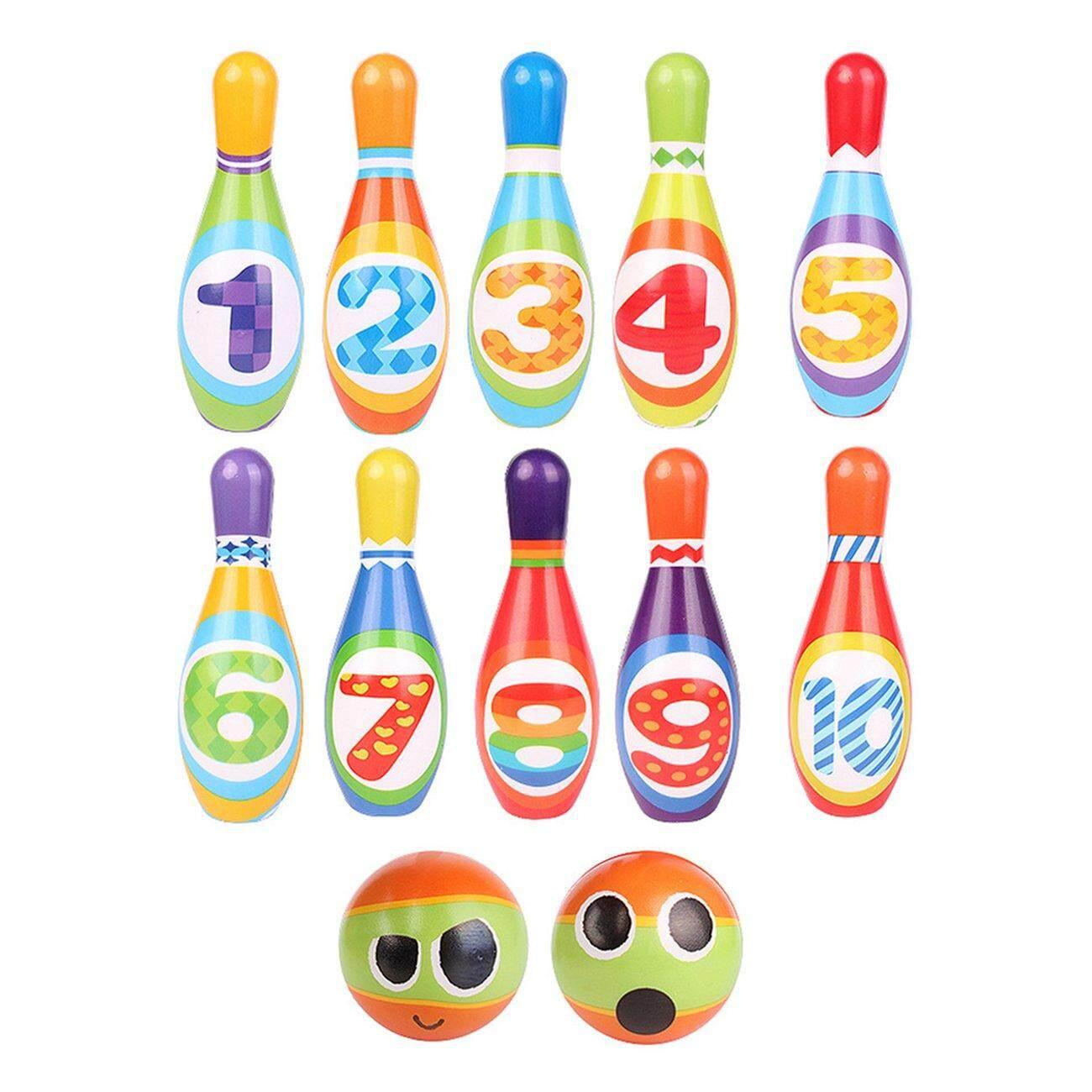 Hot Deals 8pcs 12pcs Environmental Protection Children's Sports Toys Pu Bowling Set