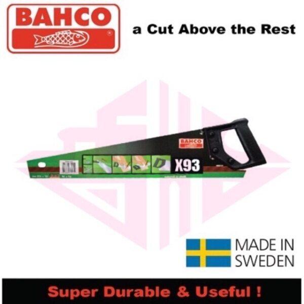 EEHIONG1977 Bahco 19&22 X93 XT Superior Wood Hand Saw 19&22 Gegaji Kayu Tangan 高级木手锯 手锯