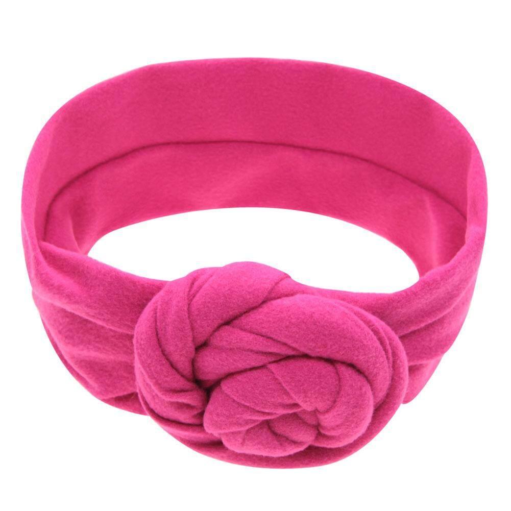 baby hair headbands accessories elastic girl white pink swirl bow