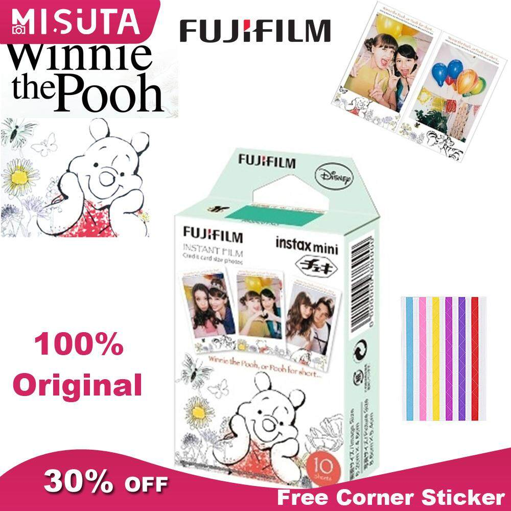 Fujifilm Instax Mini Film Winnie The Pooh 10 Sheets Instant Photo For Fujifilm Instax Mini 7s 8 8+ 9 8 90 Polaroid 300 Sp-2 Sp-1 By Misuta.