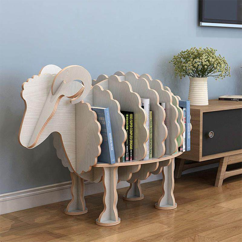 Bookshelf And Kids Bookcase Looks Like Animal By Olive Al Home(The sheep)