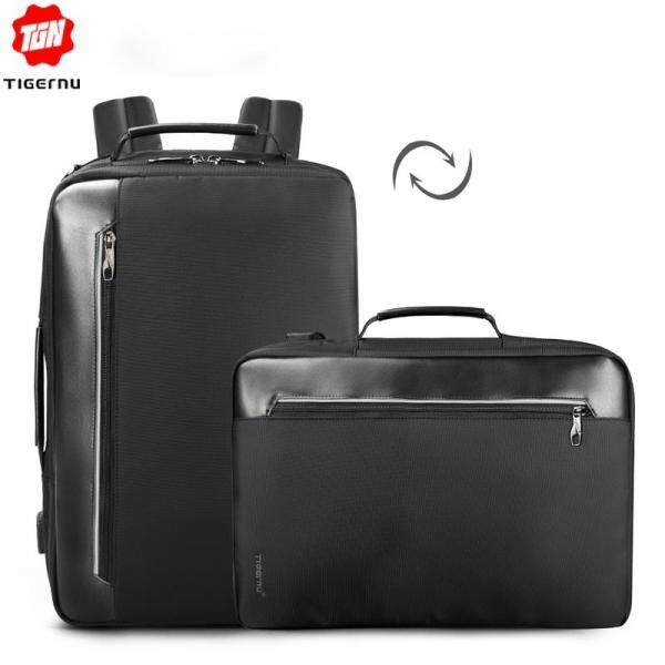 Original Tigernu Water Repellent 4-in-1 Business Backpack 15.6 inch Men Multifunction USB charging Laptop Backpack Fashion Male Mochila