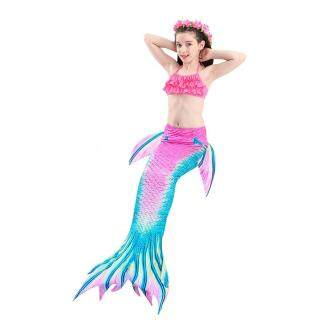 Xenbecái bộ 3 Món Đồ Bơi Bé Gái, Đồ Bơi Nàng Tiên Cá Cho Trẻ Mới Biết Đi Trang Phục Đi Biển Đuôi Nàng Tiên Cá Cho Trẻ Em thumbnail