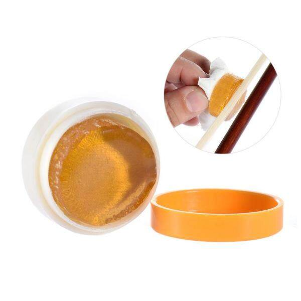 ammoon Transparent Orange Natural Rosin Cylindrical for Violin Viola Cello Light and Low Dust Malaysia