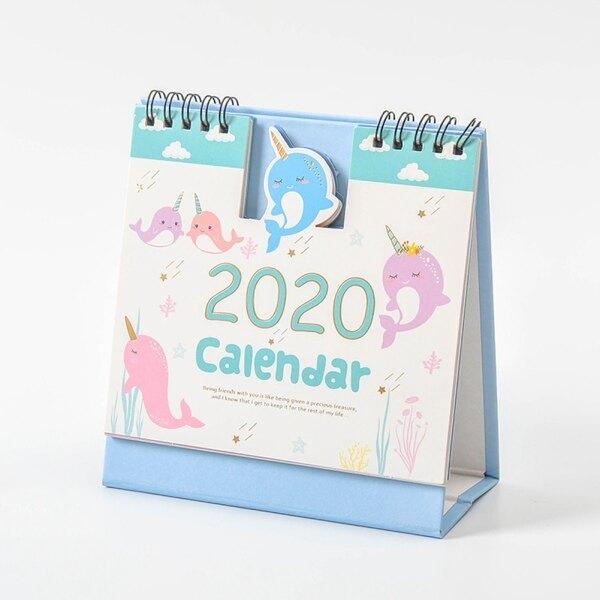 Mua Văn Phòng Phẩm Sáng Tạo Quà Tặng Dreamcatcher 2020 Bump Lịch Lịch Lịch Để Bàn Lịch
