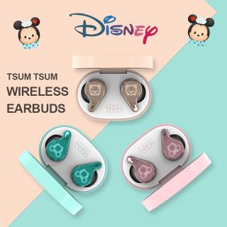 Tai Nghe Âm Thanh Nổi Không Dây Thật Nhiều Màu Sắc Disney TSUM TSUM Chính Hãng 100% Kèm Gương Trang Điểm Tai Nghe Không Dây Bluetooth V5.0 Giảm Tiếng Ồn Hai Tai thumbnail