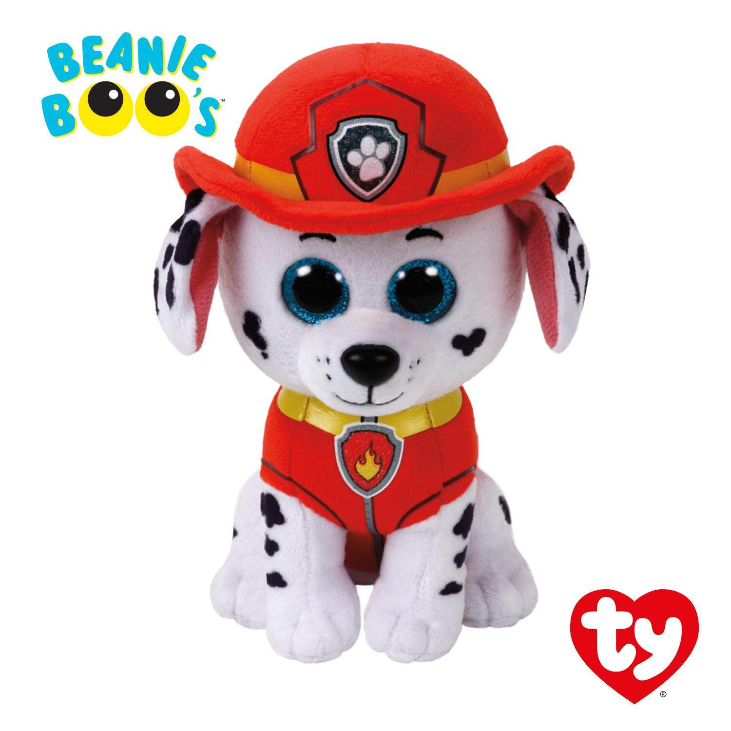 [AUTHENTIC] Marshall The Dalmation - PAW Patrol 6 inch / 15 cm TY Beanie Boos Plush Toy Birthday Gift for Boys Girls Kids toys for girls and boys