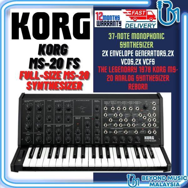 Korg MS-20 Mini Semi-modular Analog Synthesizer (Korg MS20/Korg-MS20) Malaysia