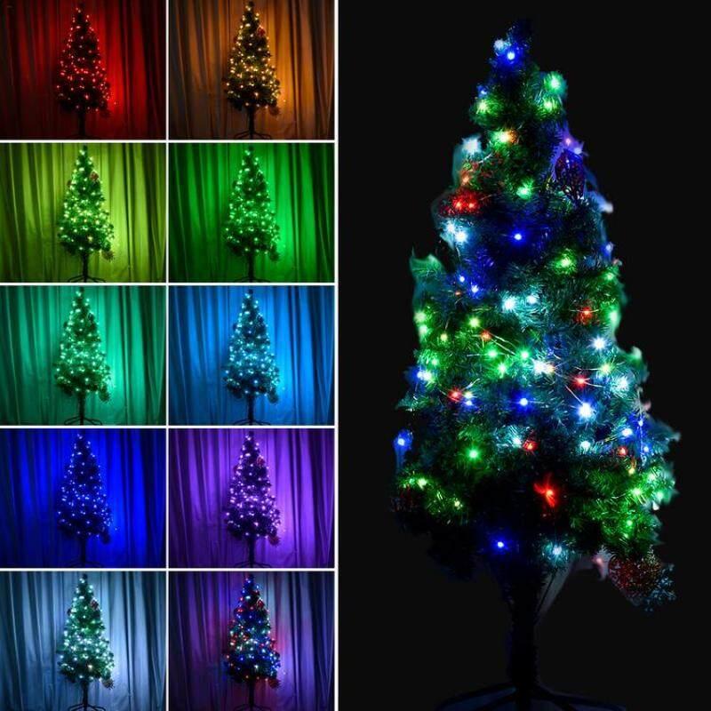 USB Powered 12 Màu 10M 100 Đèn LED Dây Cho Phòng Ngủ, Tiệc, Kỳ Nghỉ, Trang Trí Nhà Giáng Sinh