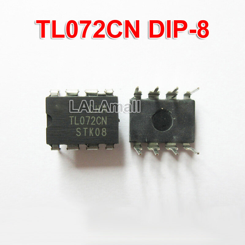 10 Chiếc Ban Đầu TL072CN Nhúng Bèo-8 TL072 DIP8 072CN Nhúng Kép Hoạt Động Khuếch Đại