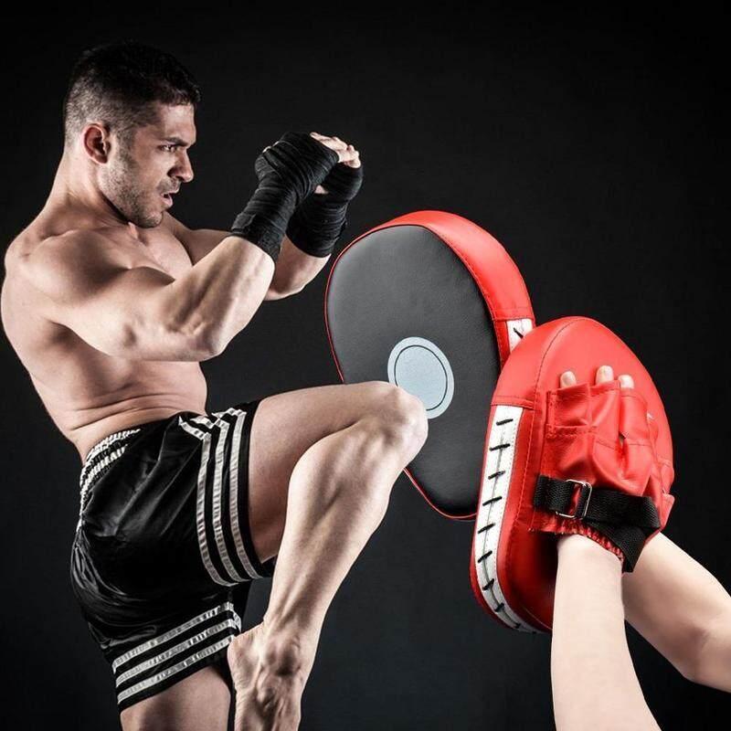 Chất Liệu Da PU Đấm Đá Bàn Tay Móc & Miếng Đệm Găng Tay Mục Tiêu Găng Tay Để Tập Trung Đào Tạo Đá Quyền Anh Karate Muaythai UFC MMA Đang Khuyến Mãi