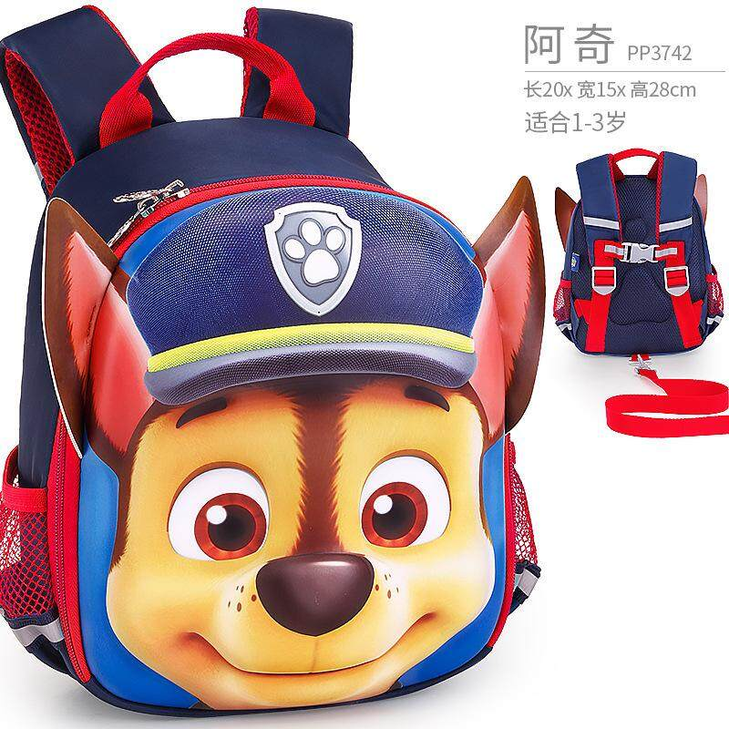 1Pc Hot Genuine PAW PATROL Kindergarten Anti-lost backpack shoulder bag schoolbag Boys girls 1-6 years cartoon baby small class bag Children toy birthday Christmas gift