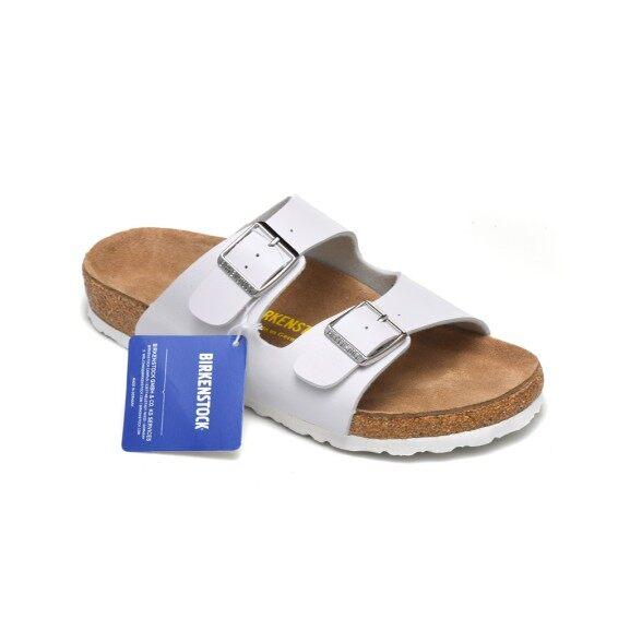 Dép Da Nam Nữ Birkenstocks, Giày Đi Biển Nút Chai Có Khóa Đôi giá rẻ
