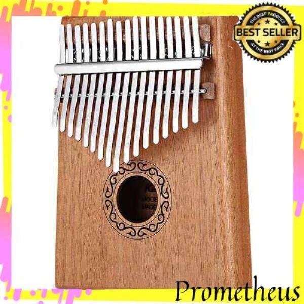 HOT ITEM W - 17T 17 Keys Tone Wooden Thumb Piano Portable Finger Musical Instrument (Burlywood) Malaysia