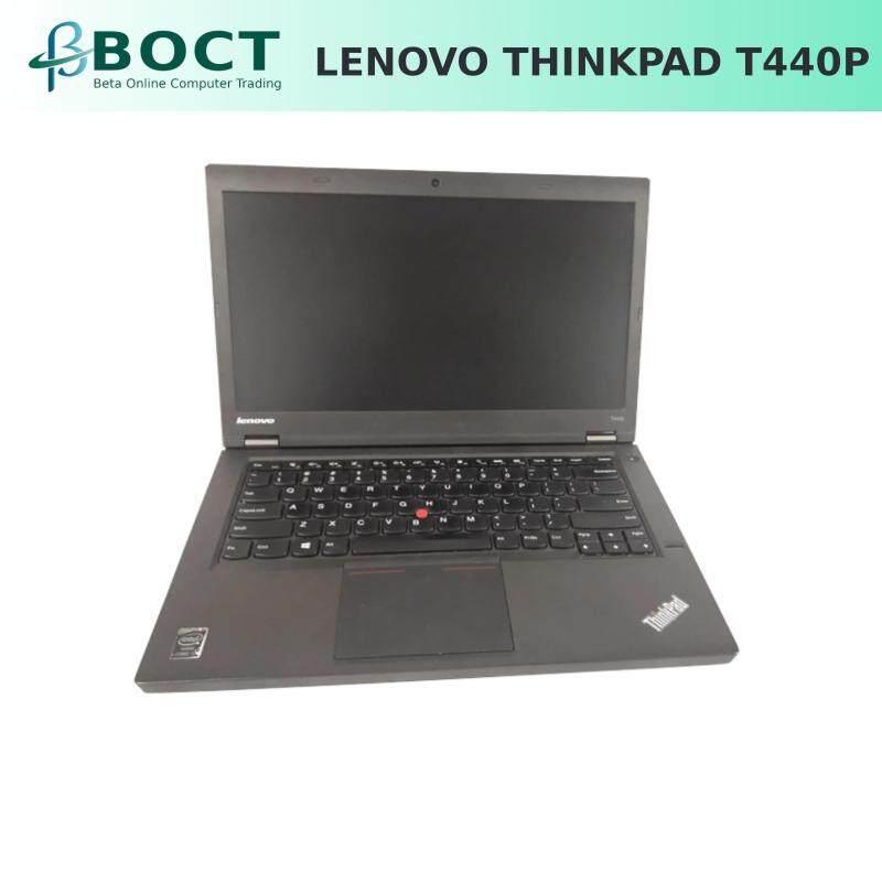 "(Refurbished) Lenovo ThinkPad T440p i5-4200M 2.5GHz/ 8GB/ 1TB HDD+16GB M.2 SSD/ 480GB SSD/ DVD/ 14"" Malaysia"