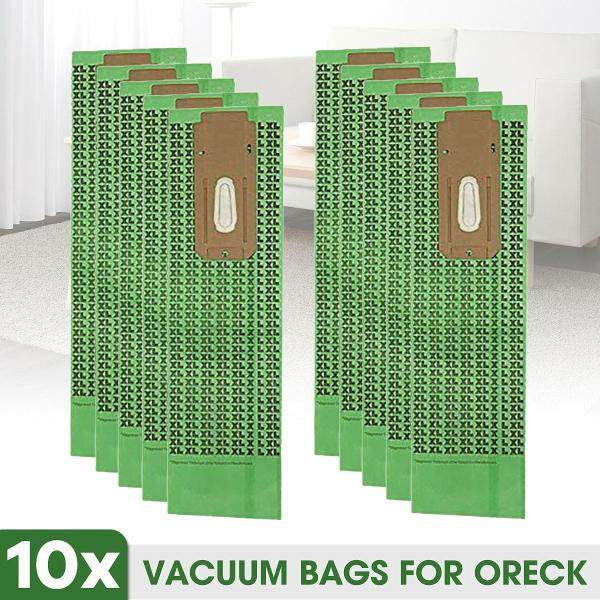 【Free Shipping】10Pack Universal Upright Vacuum Bags Replacement Bag For Oreck XL CC CCPK8DW NEW