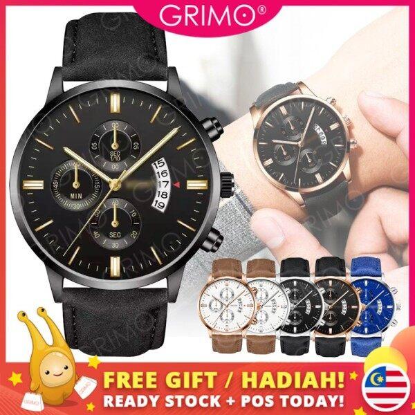 GRIMO Malaysia - Vo-shi Men Watch Jam Tangan Analog Men Watches Lelaki Jam Tangan Guys Dinner Lawa Casual Gift NEW December ac11434 Malaysia