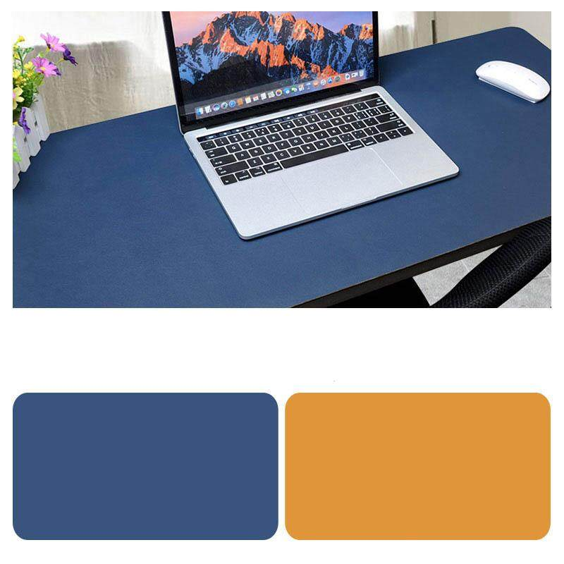 Redcolourful Double Sided Desk Mousepad Extended Waterproof Microfiber Gaming Keyboard Mouse Pad for Office Home School