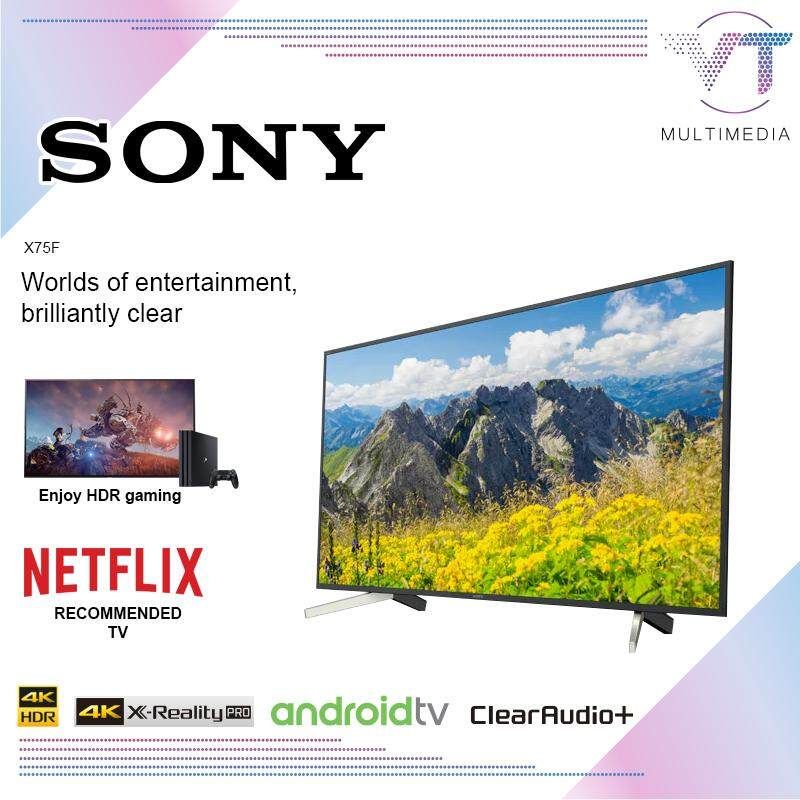 SONY 4K ANDROID SMART LED TV_KD-65X7500F