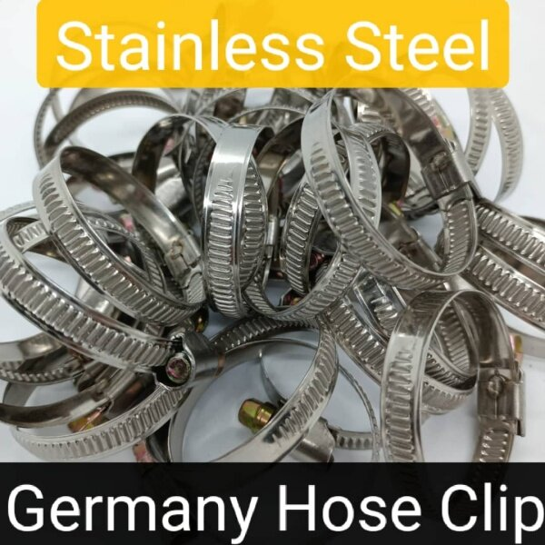 Stainless Steel Germany Hose Clip 8mm-80mm