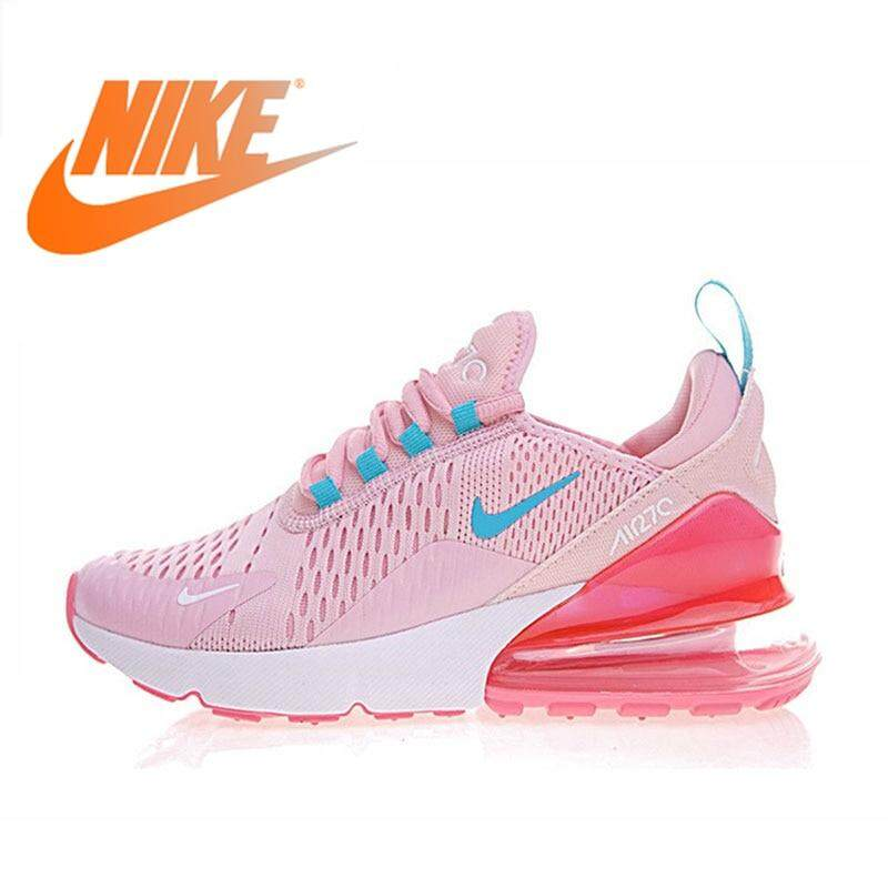 ยี่ห้อไหนดี  เชียงราย Original authentic Nike_AIR_Max_270 women s outdoor sports shoes running walking cushion comfortable and durable AH8050
