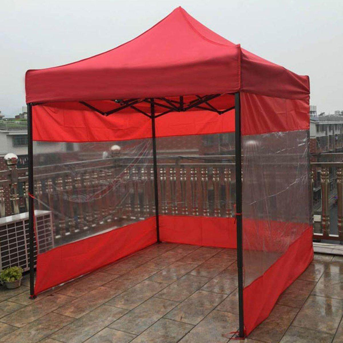 For 2x2x2m Tents Sun Shade Side Walls Screen Panel Gazebo Canopy Shelters #  6 x 1 95 m