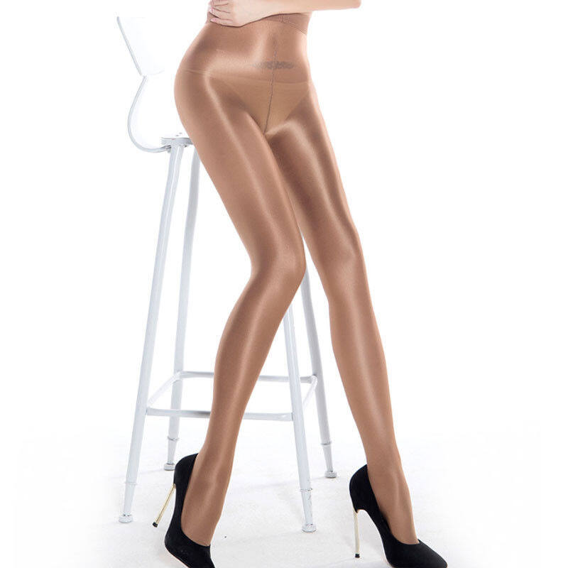 High Gloss Pantyhose Tights Elastic Oil Shiny Glossy Stockings Hosiery Plus Size