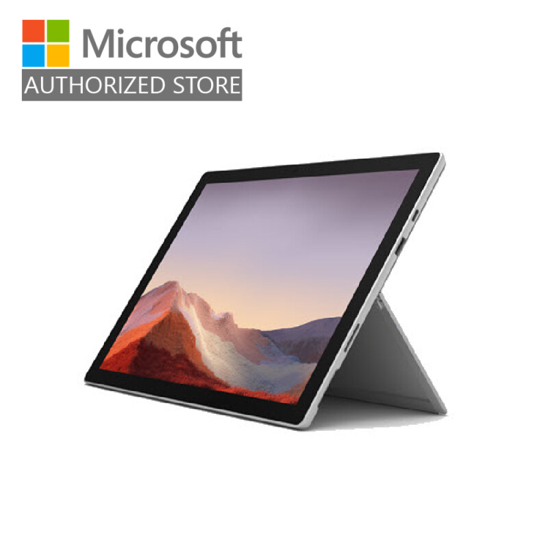 [BUNDLE] Microsoft Surface Pro 7 - Platinum (i5/8GB/128GB) + Type Cover (Poppy Red) + Pen (Poppy Red) + Microsoft 365 Personal Malaysia