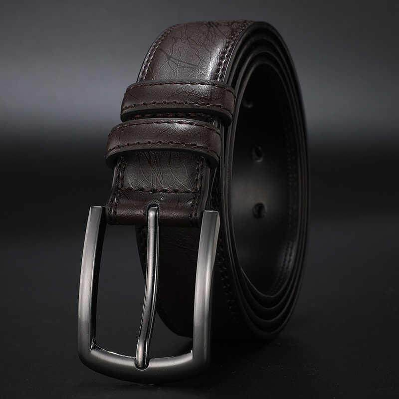 2019 Designers Men Belts Genuine Leather Dress Casual Pin Buckle Business Belt for Man 2019 New