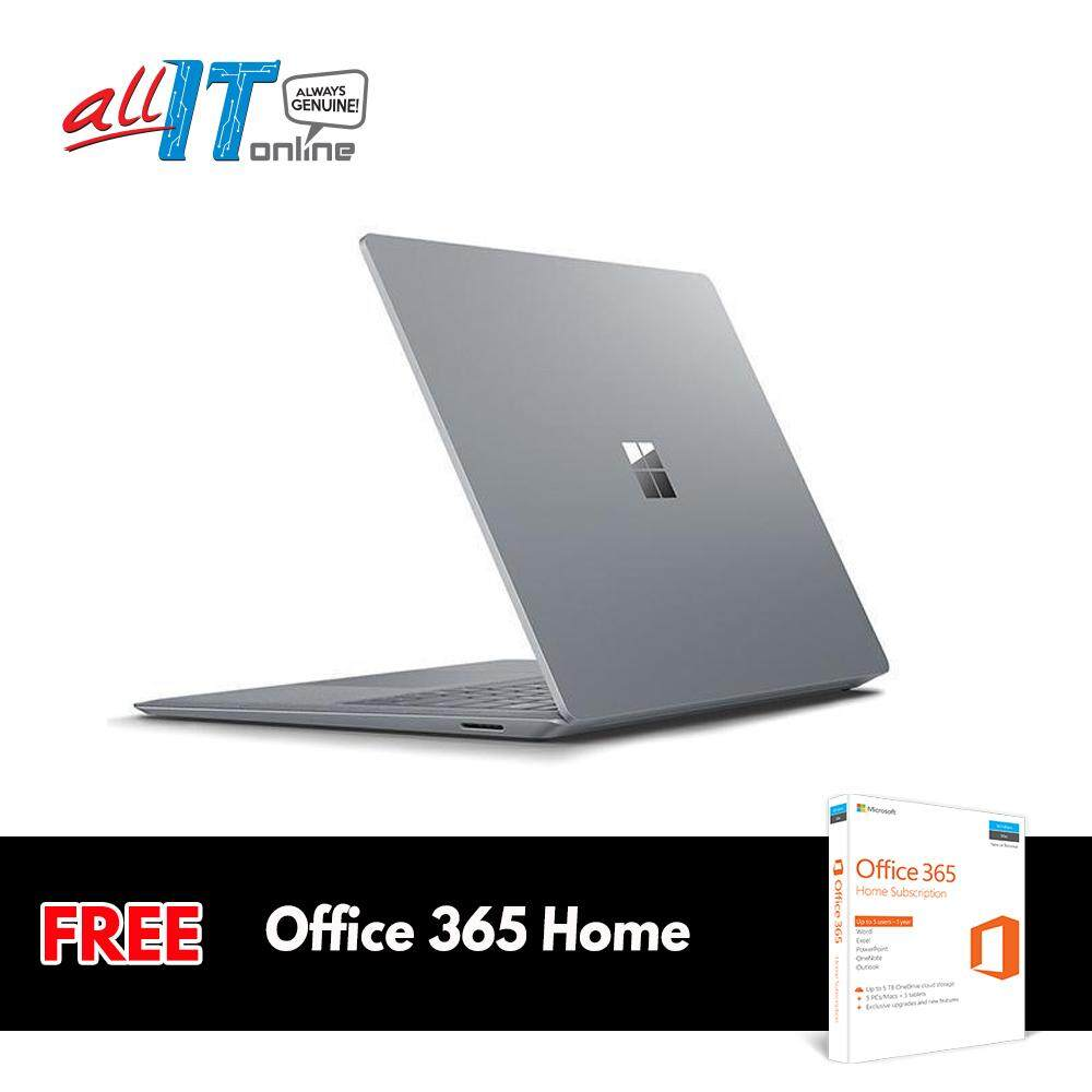 Microsoft Surface Laptop [Intel Core i5, 8GB RAM, 128GB SSD] - Platinum [FS0A]**FREE Office 365 Home** Malaysia