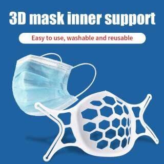 1 3 10 Cái Giá Đỡ Silicon Mặt Nạ 3D Chất Lượng Cao Hơi Thở Tự Do Chủ Bảo Vệ Mặt Ma-sk Hỗ Trợ Bên Trong Khung Miệng Miếng Đệm Mũi Mặt Nạ Thoáng Khí Mềm Bền Thoải Mái KF94, Mặt Nạ Chống Bụi thumbnail