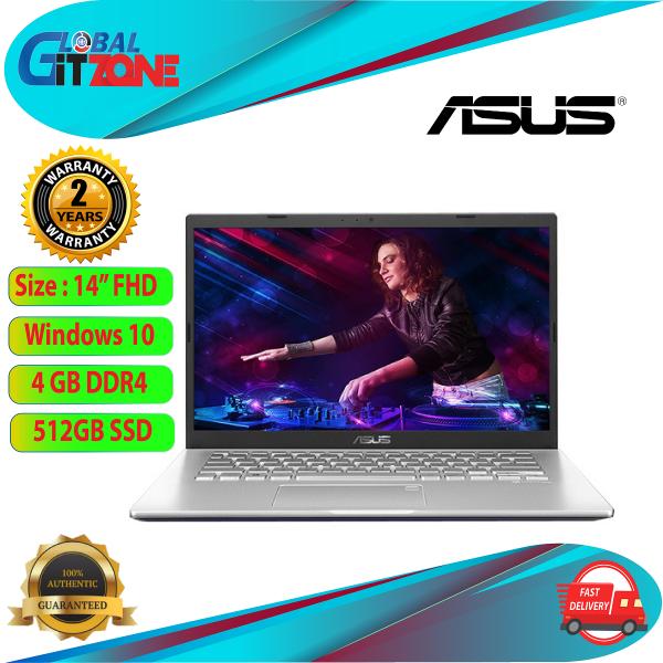 Asus A409J-PEK007TS Notebook Silver (14 / Intel I7 / 4GB / 512GB SSD / MX330) Malaysia